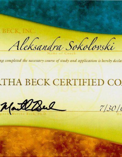 Martha Beck Inc