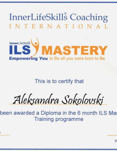 InnerLifeSkills Coaching Internationl